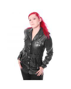 Kunstleder Damen Jacke Style No.RA 1200
