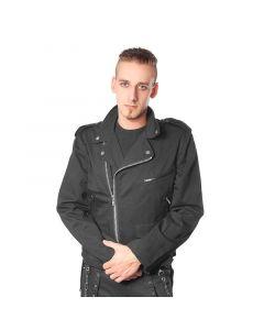 Jacke Style No.1015 Baumwolle schwarz