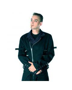 Zipper Jacke 855 Leo grau