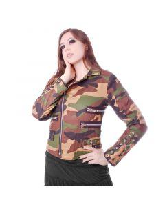 Zipper Jacke 855 Camouflage