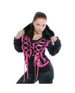 Visual Kei Style Hoodie pink