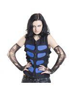 Cyberweste gothic blau