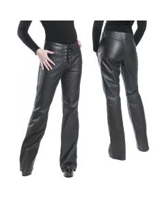 Lederhose front Lace nappa Leder