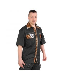 Rockabilly Leopard shirt