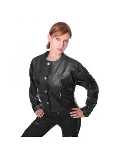 Damenlederjacke 786222 black