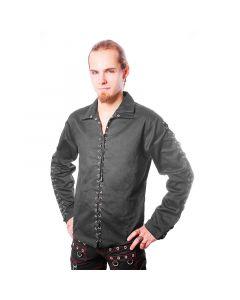 Schnürhemd Baumwolle