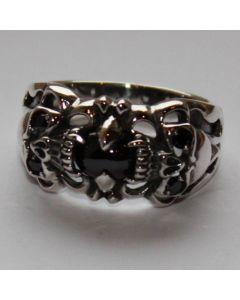 Schakalring in echt 925 Sterling Silber