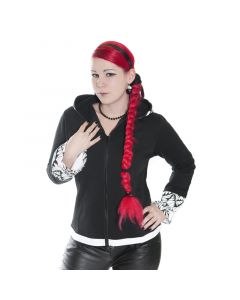 EMO Punk Hoodie Skelet Rabbit