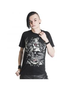 Gothic Shirt Schlange und Panther