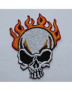Aufnäher Burning Skull