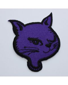 Aufnäher Purple Kitty