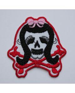 Aufnäher Rockabella Skull