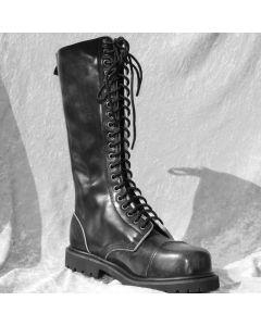 20 loch Ranger Boots mit Stahlkappe matt