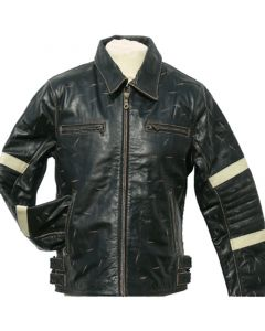 Lederjacke 1735 buff rub