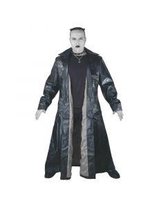 Dracula Mantel schwarzes Innenfutter