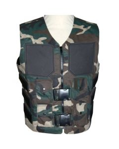Camouflage Weste