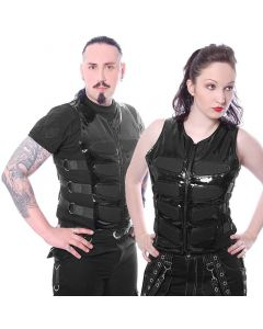 Cyberweste gothic Lack
