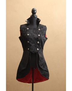 Steampunk Weste Damen brokat