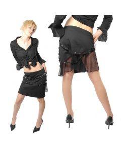 Damenrock kurz Tüll