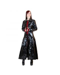 Triny langer Mantel Lack
