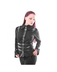 Military Damen Bondage Bluse