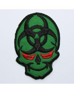 Aufnäher Biohazard Skull