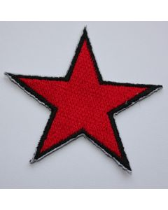 Aufnäher red Star Patch
