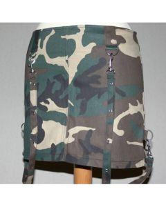 Bondage Minirock camouflage