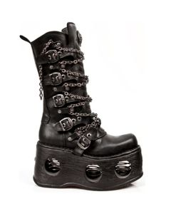 Newr Rock Boots M.1013-C1 NEPTUNO NEW SPACE CANAL 30 Tage Plateau